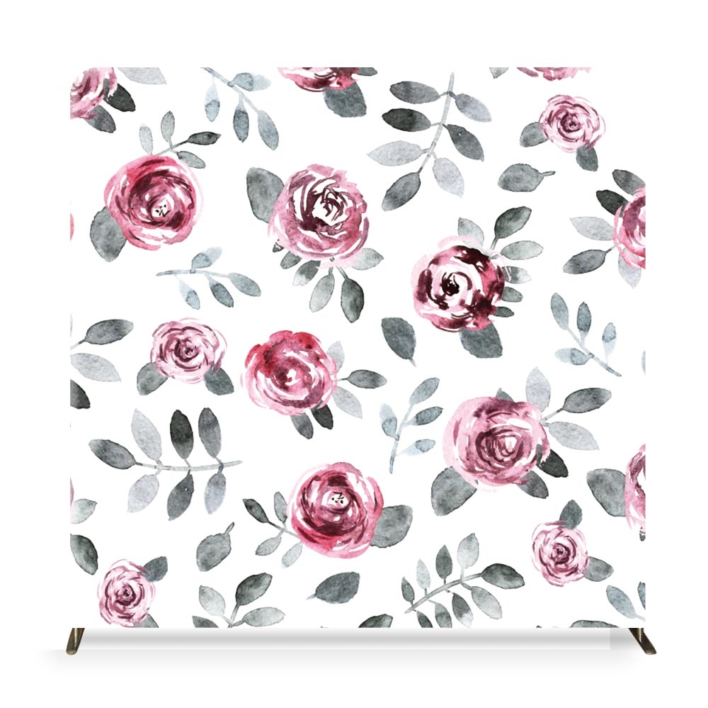 Thorn Rose Photo Booth Backdrop